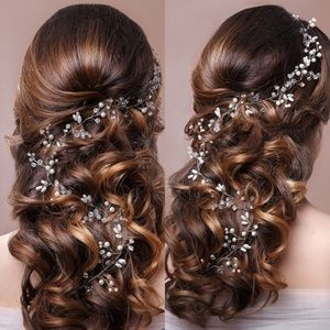 New Celtic Renaissance Wedding Hair Piece Floral
